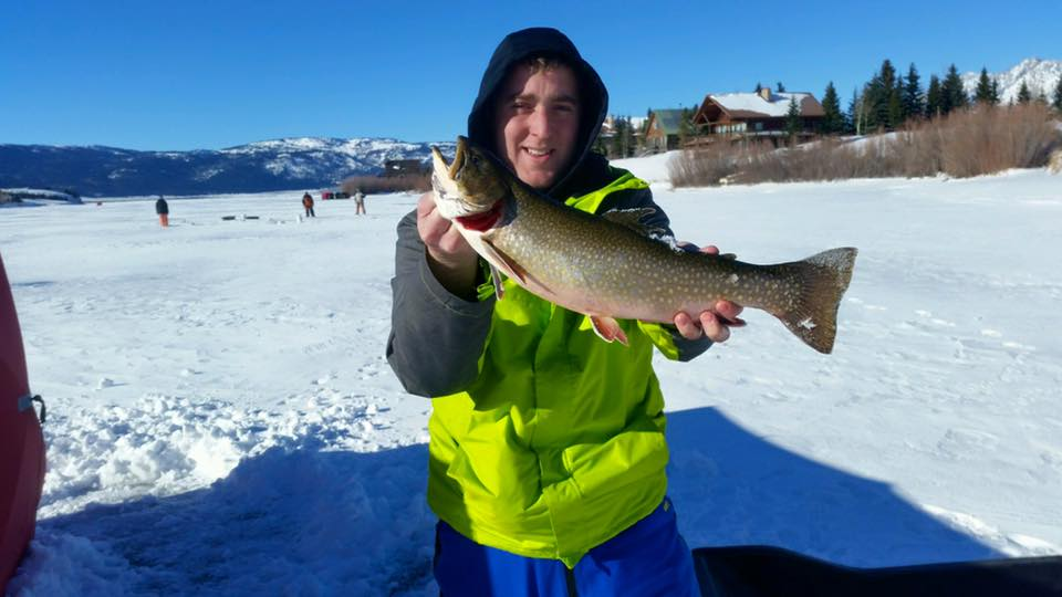 Winter fun two top trading co island park idaho near for Henrys lake fishing
